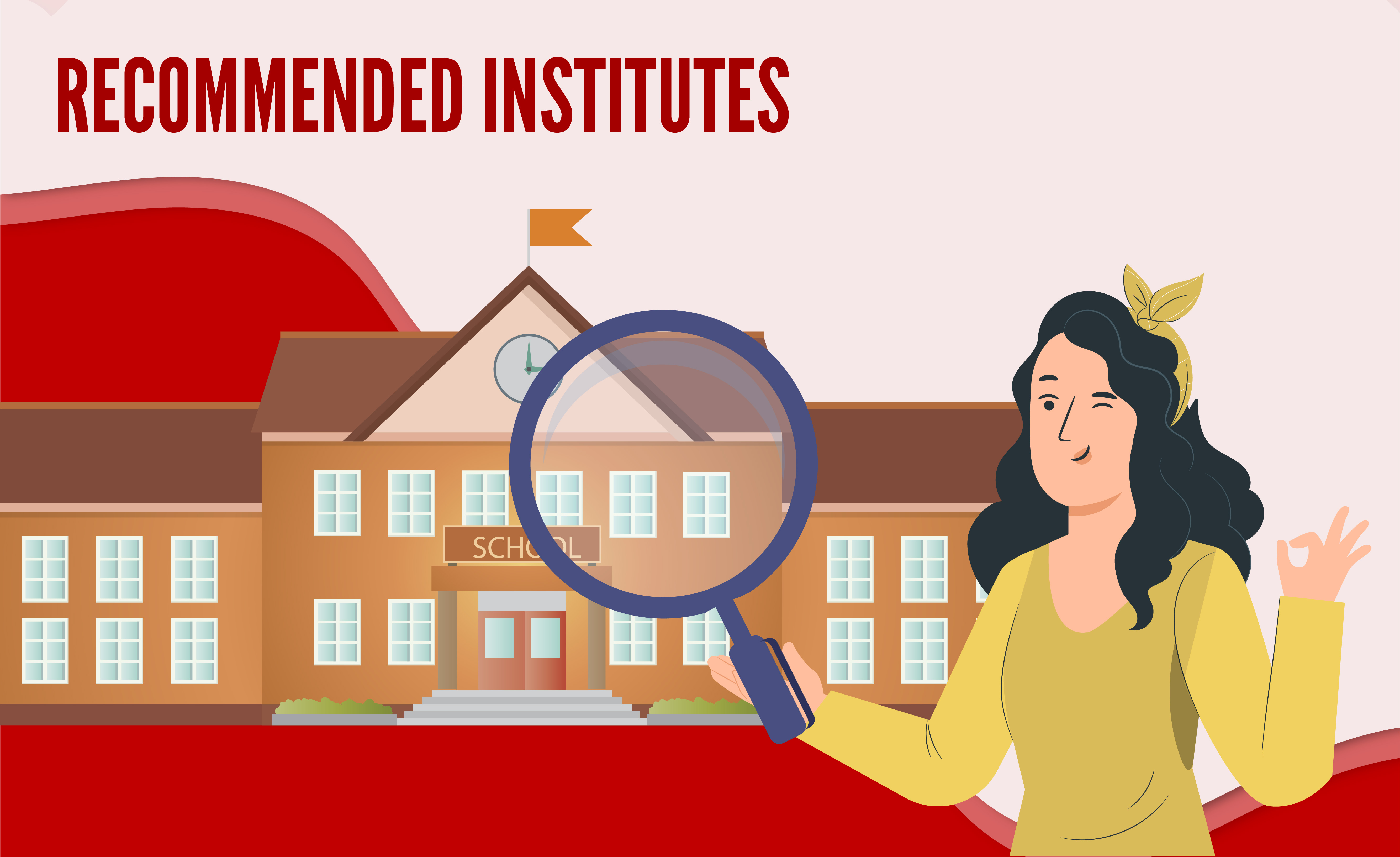 Ielst recommended institues
