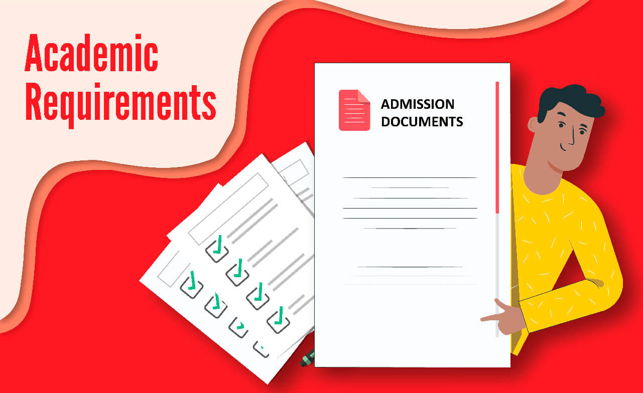 Academic requirements for MS