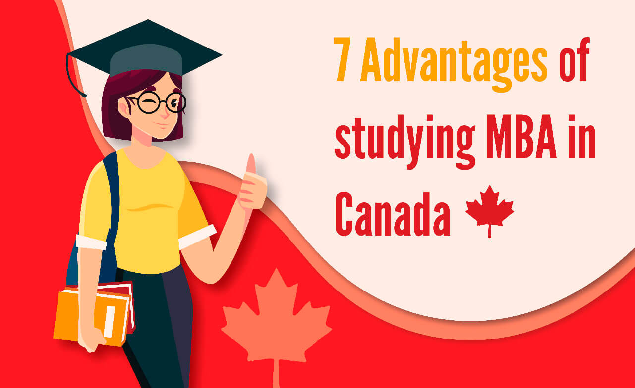 Adavantages of studying MBA in Canada