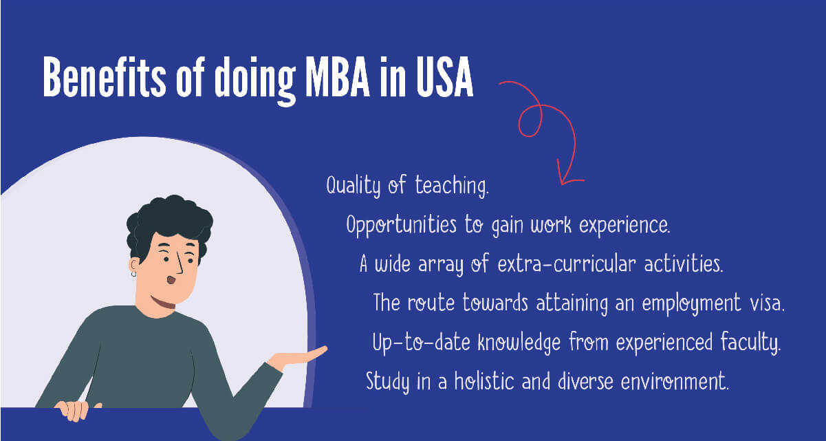 benefits of doing mba in usa