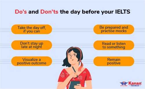 do's and dont's the day before your ielts