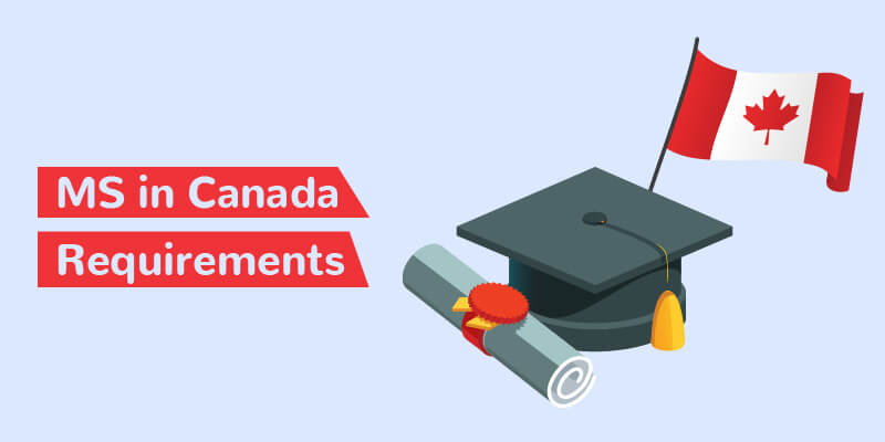 MS in Canada requirements