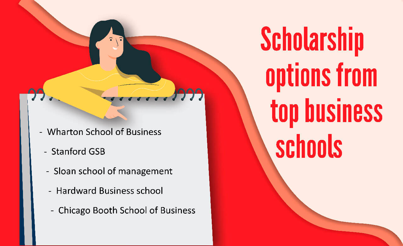 Scholarship options for top business schools